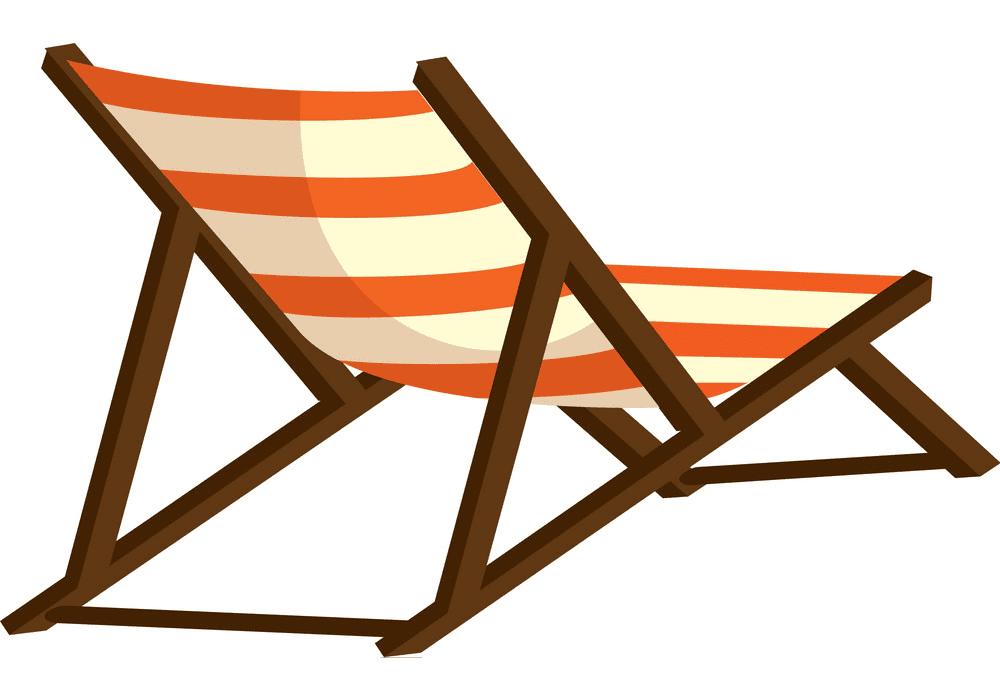 Beach Chair clipart picture