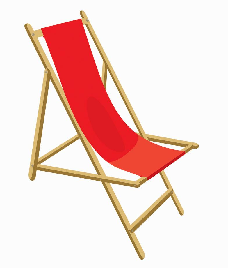 Beach Chair clipart png free