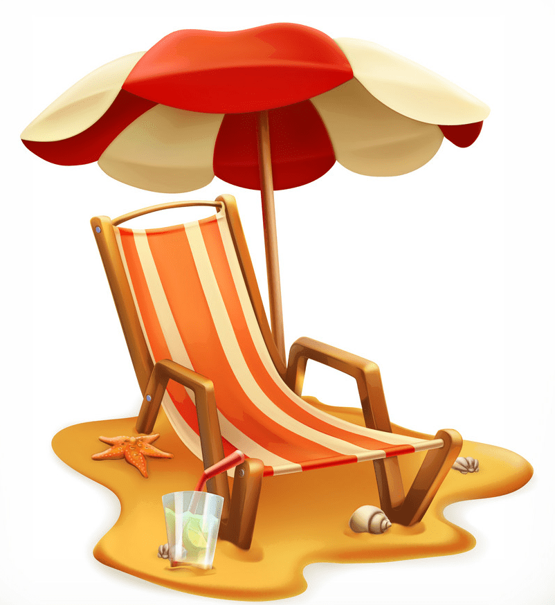 Beach Chair clipart png image