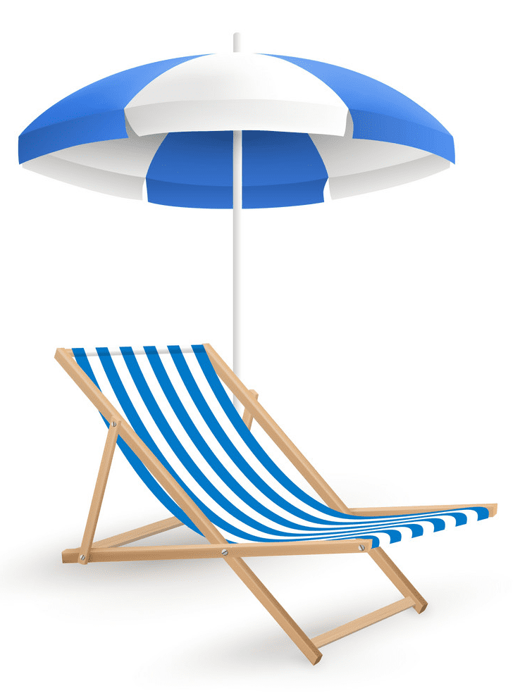 Beach Chair clipart png images