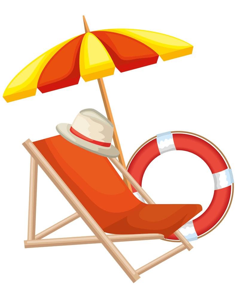 Beach Chair clipart png