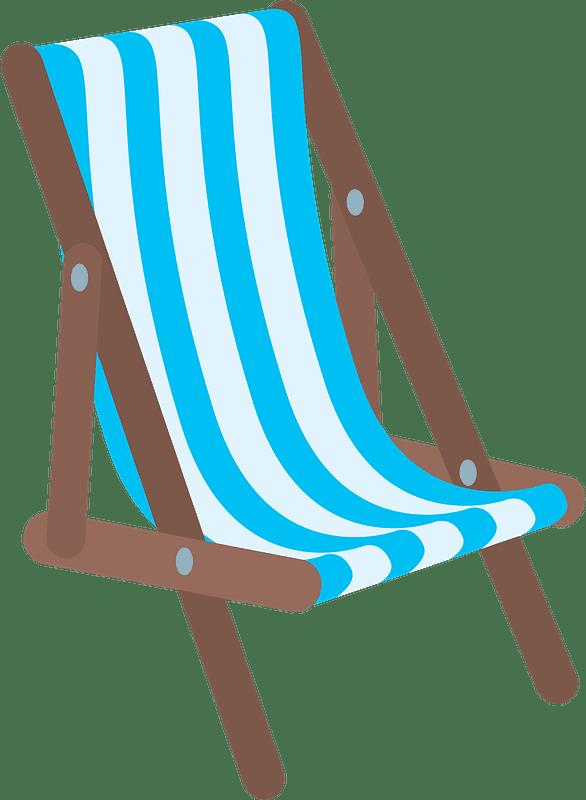 Beach Chair clipart transparent 1