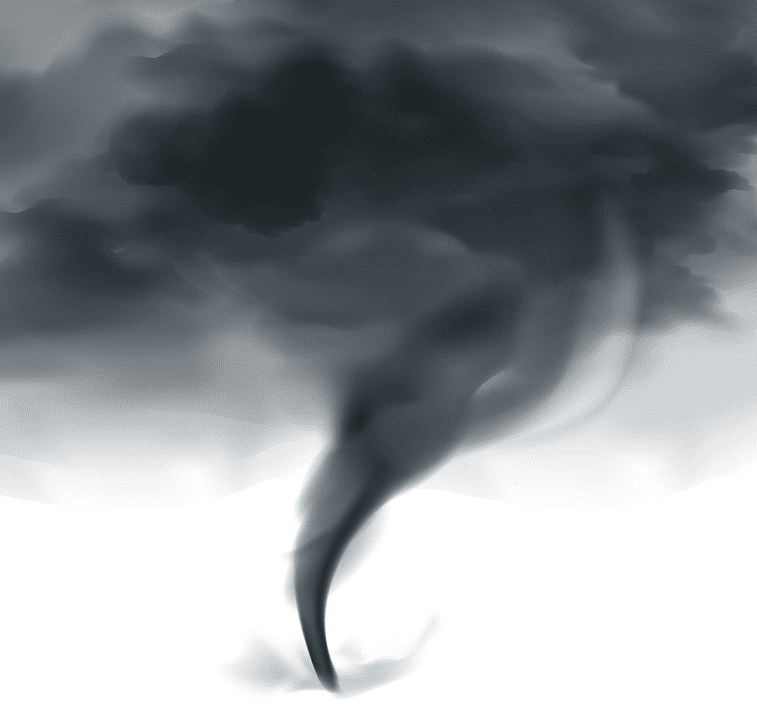 Black Tornado clipart free