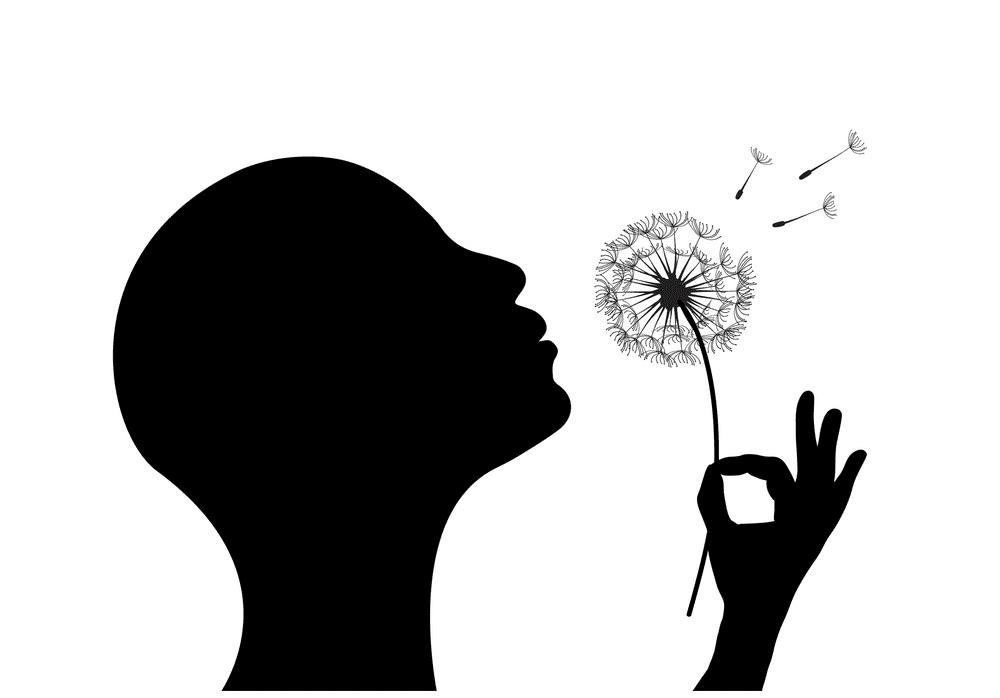 Blowing Dandelion clipart images