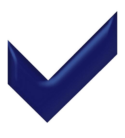 Blue Check Mark clipart png free