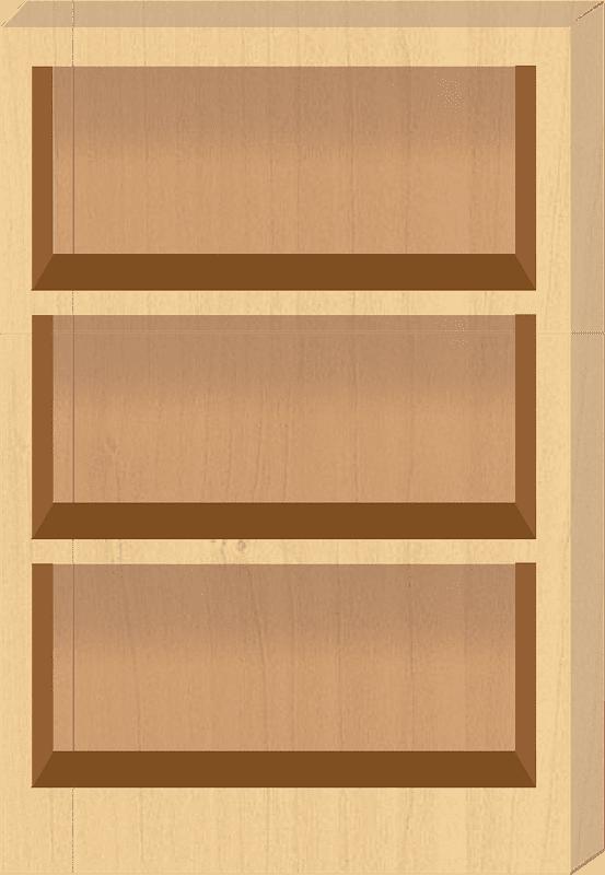 Bookshelf clipart transparent background 5