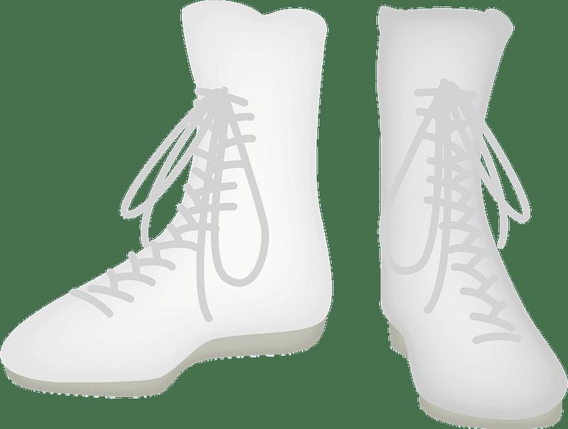Boxing Shoes clipart transparent
