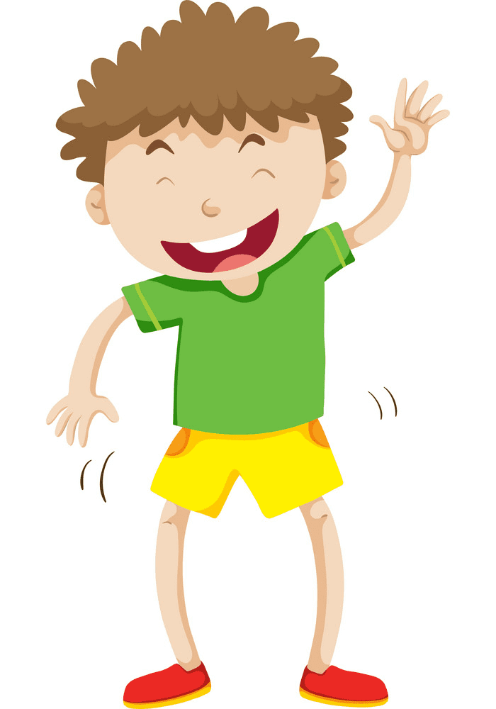 Boy Laughing clipart 4