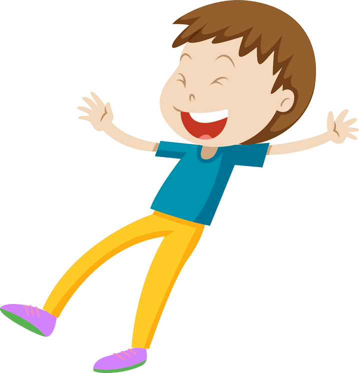 Boy Laughing clipart free image