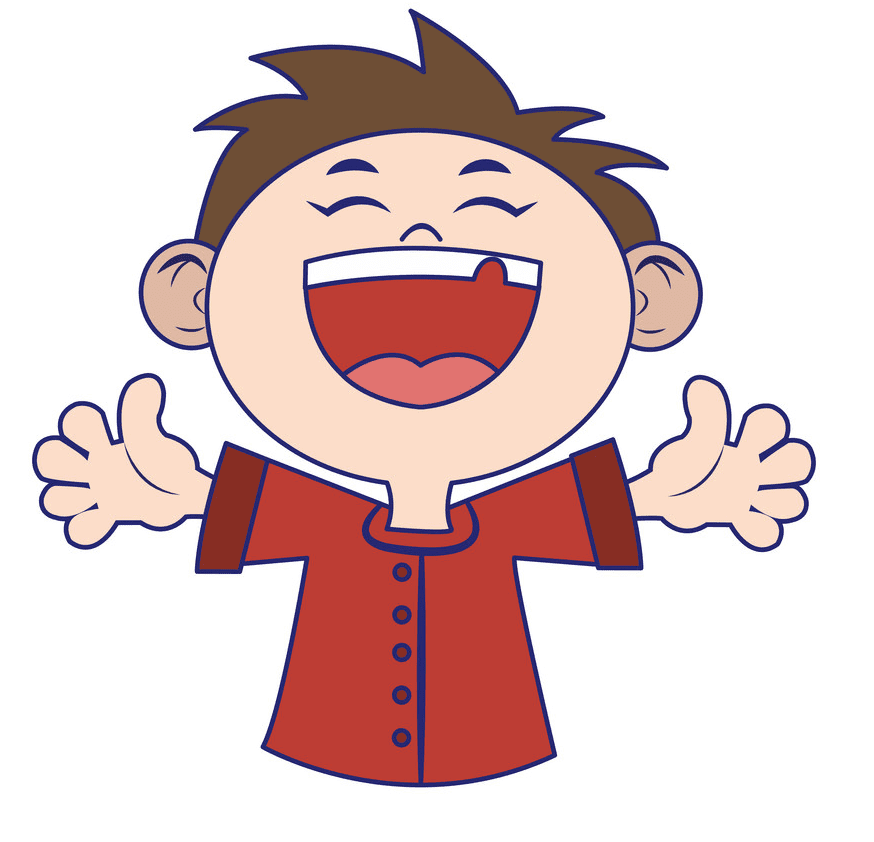 Boy Laughing clipart free images