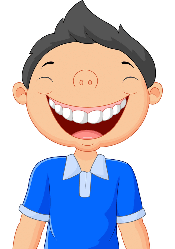 Boy Laughing clipart png free