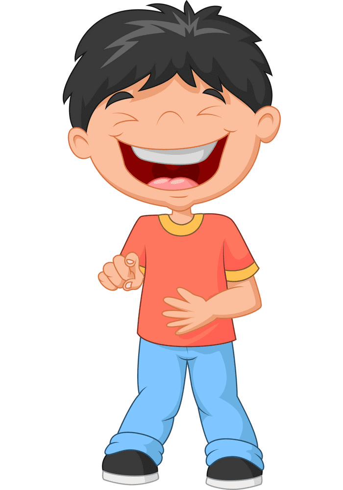 Boy Laughing clipart png