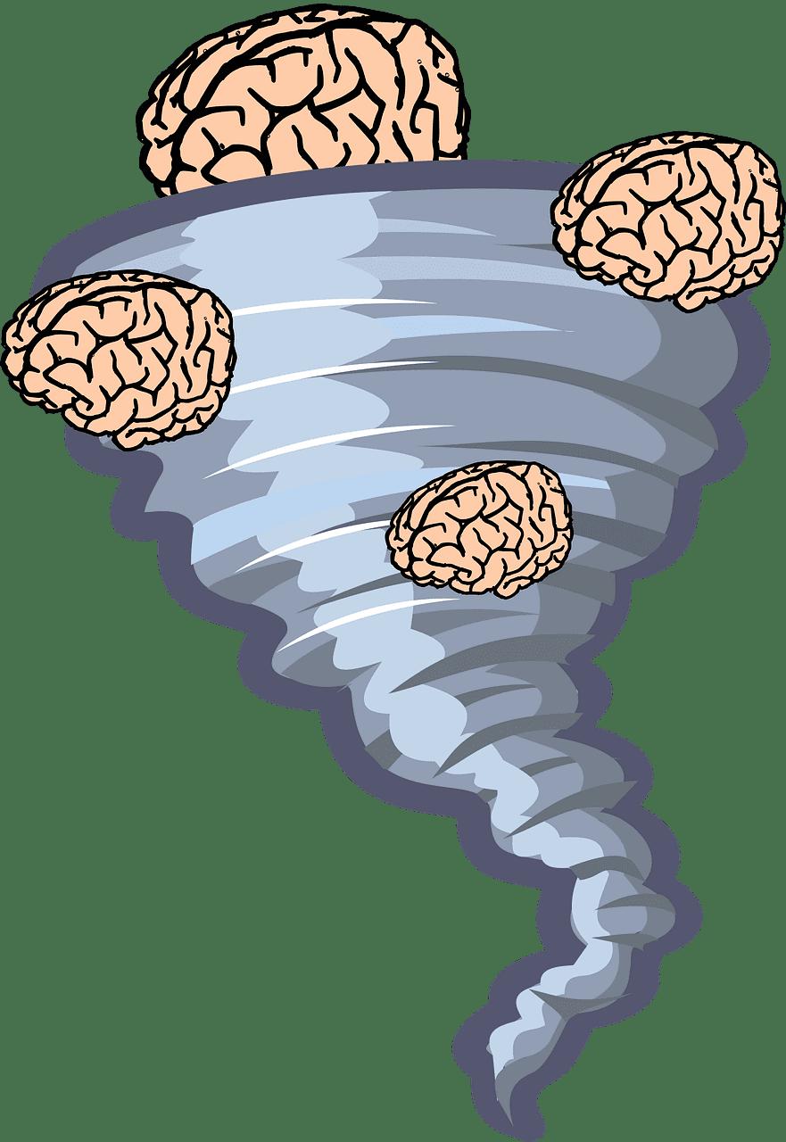 Brain Tornado clipart transparent