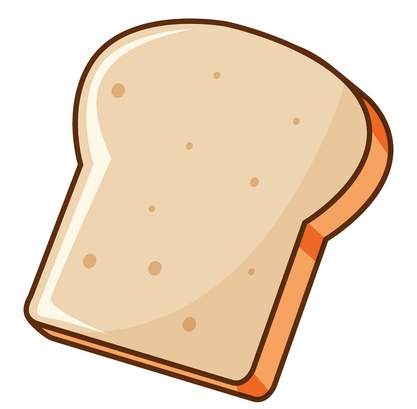 Bread Slice clipart images