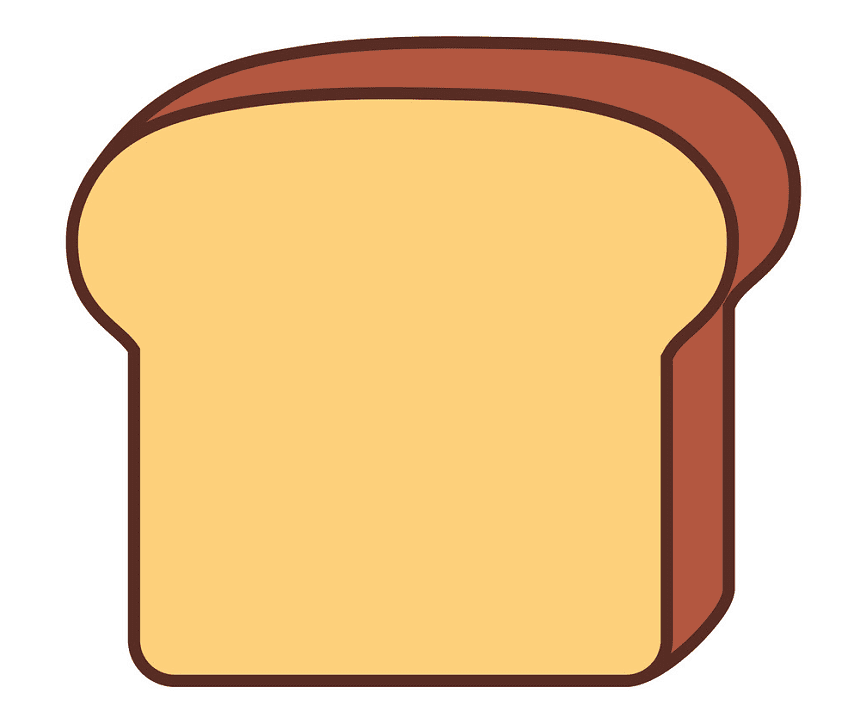 Bread Slice clipart