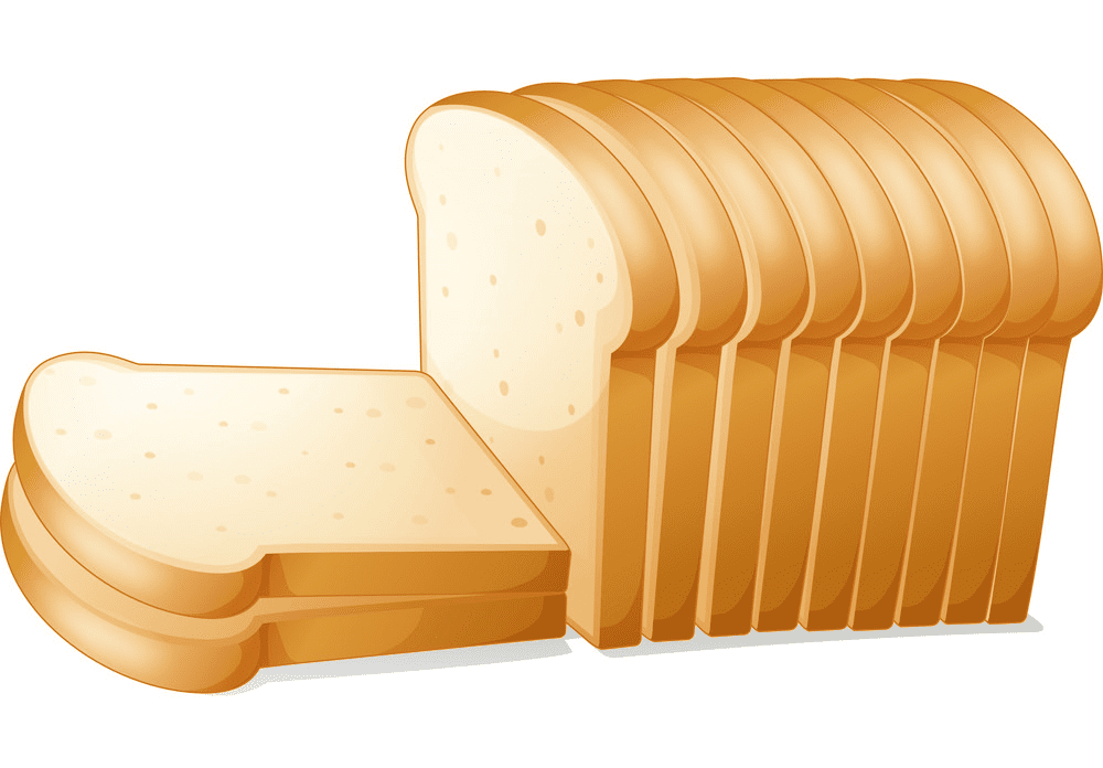 Bread Slices clipart for free
