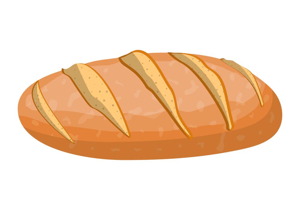 Bread clipart free 8
