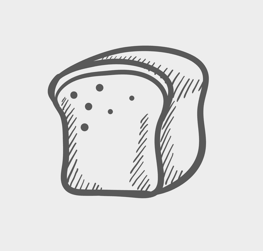 Bread clipart png 9