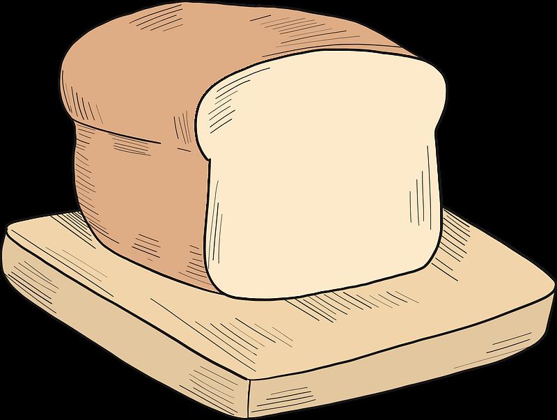 Bread clipart transparent 1