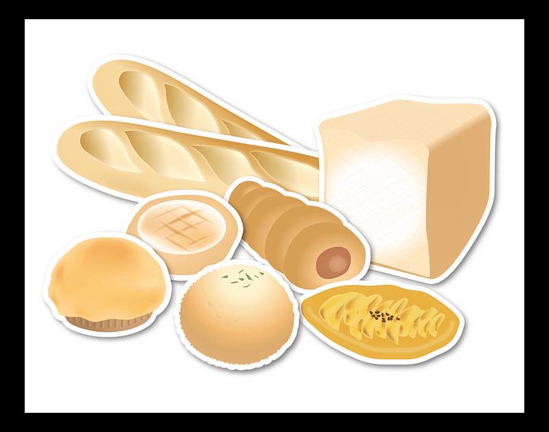 Bread clipart transparent 2