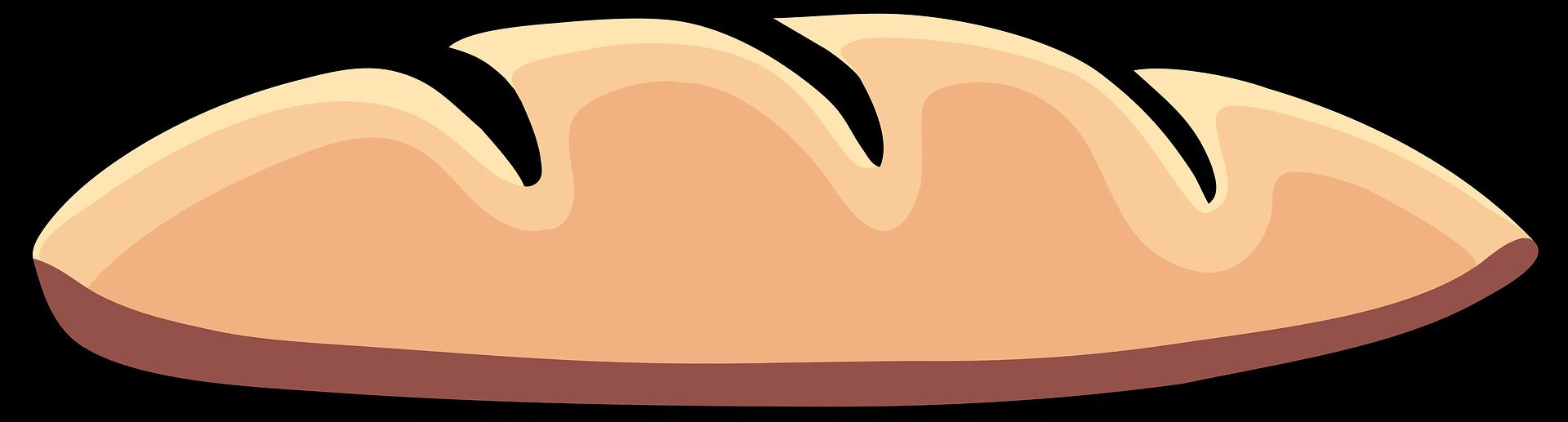 Bread clipart transparent 7