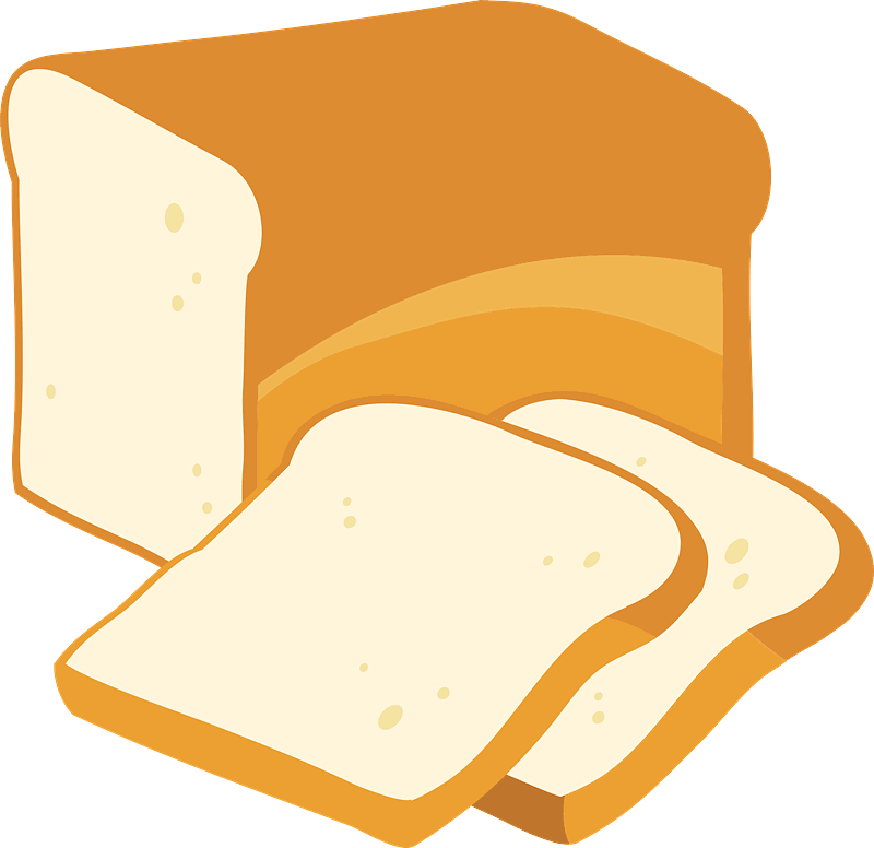 Bread clipart transparent 8