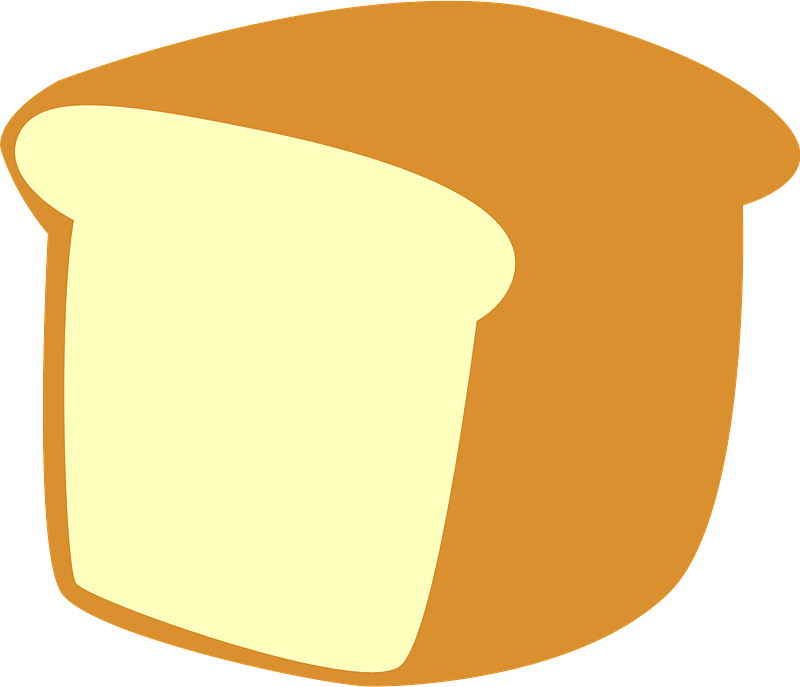 Bread clipart transparent 9