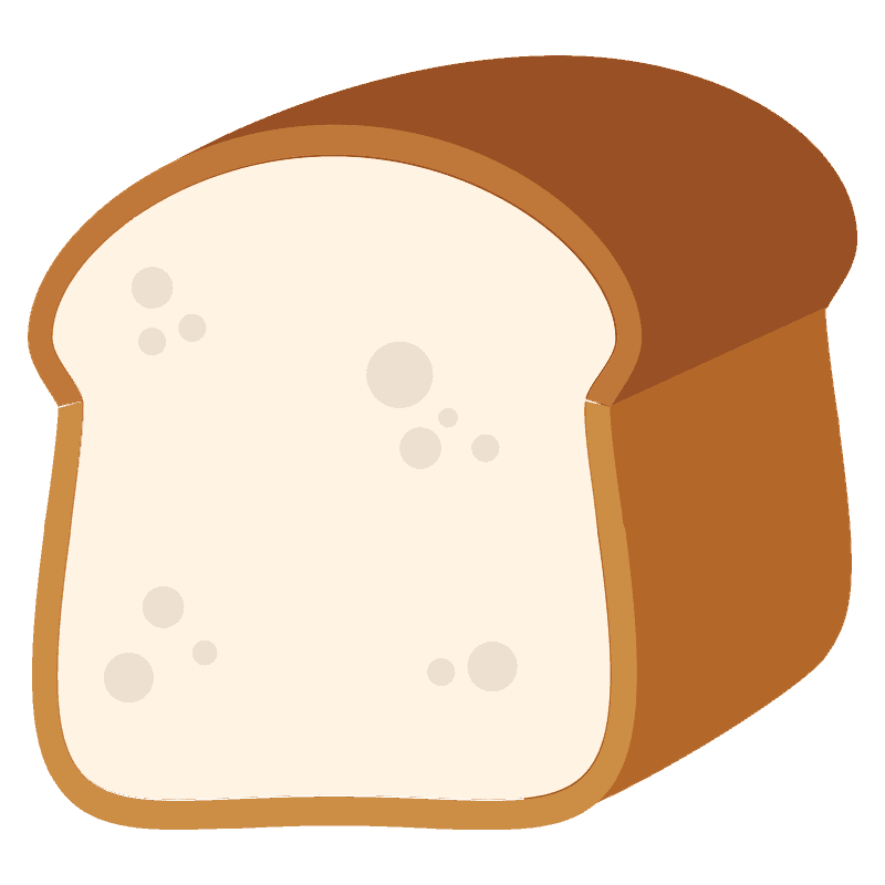 Bread clipart transparent background 1