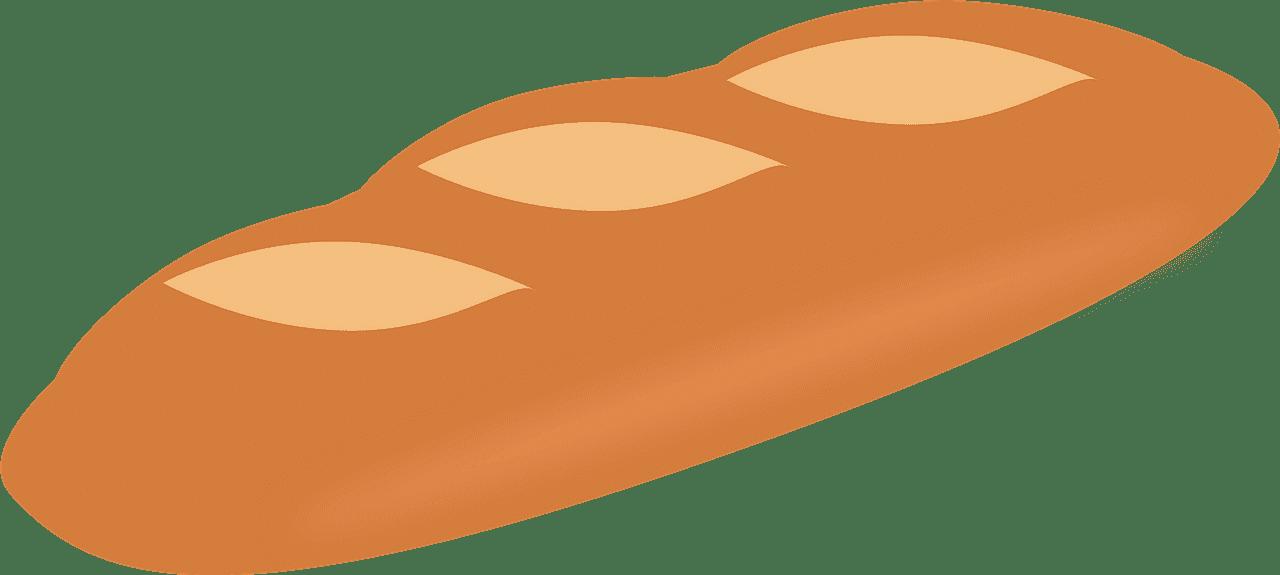 Bread clipart transparent background 10