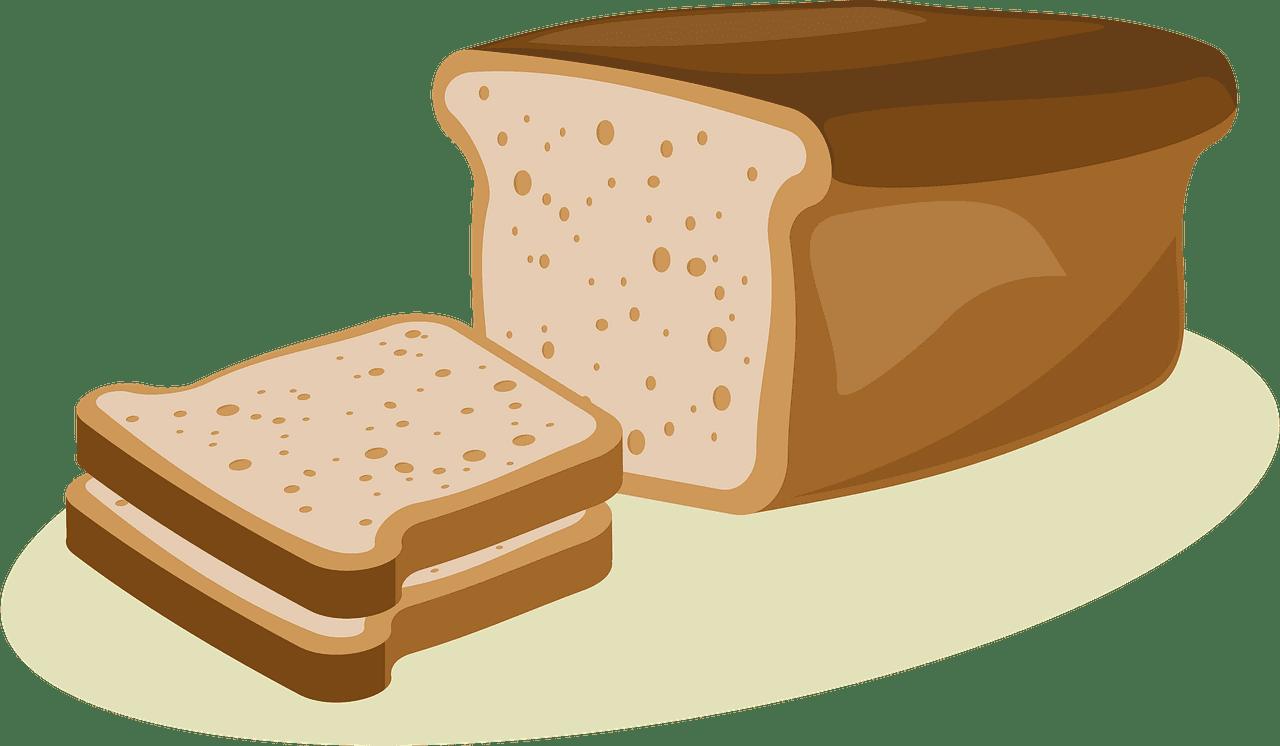 Bread clipart transparent background 14