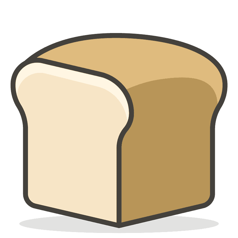 Bread clipart transparent background 3