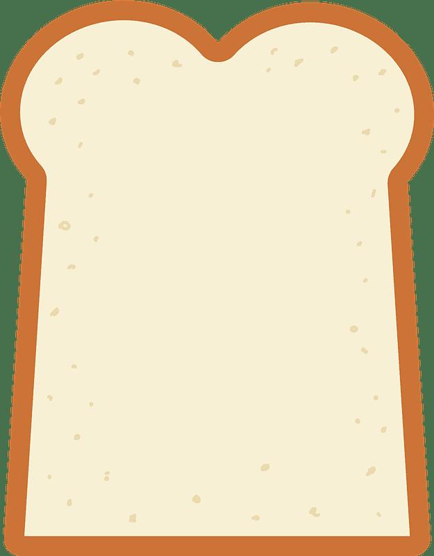 Bread clipart transparent background 7