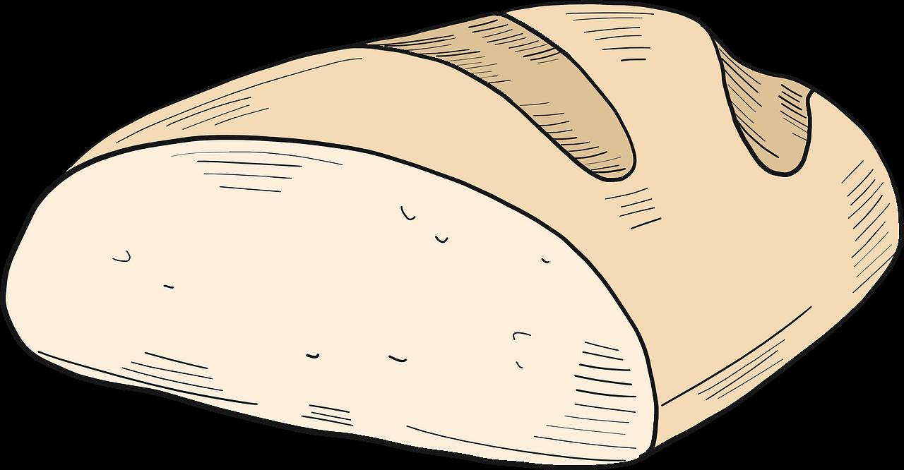 Bread clipart transparent images