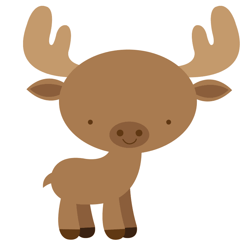 Bsby Moose clipart image