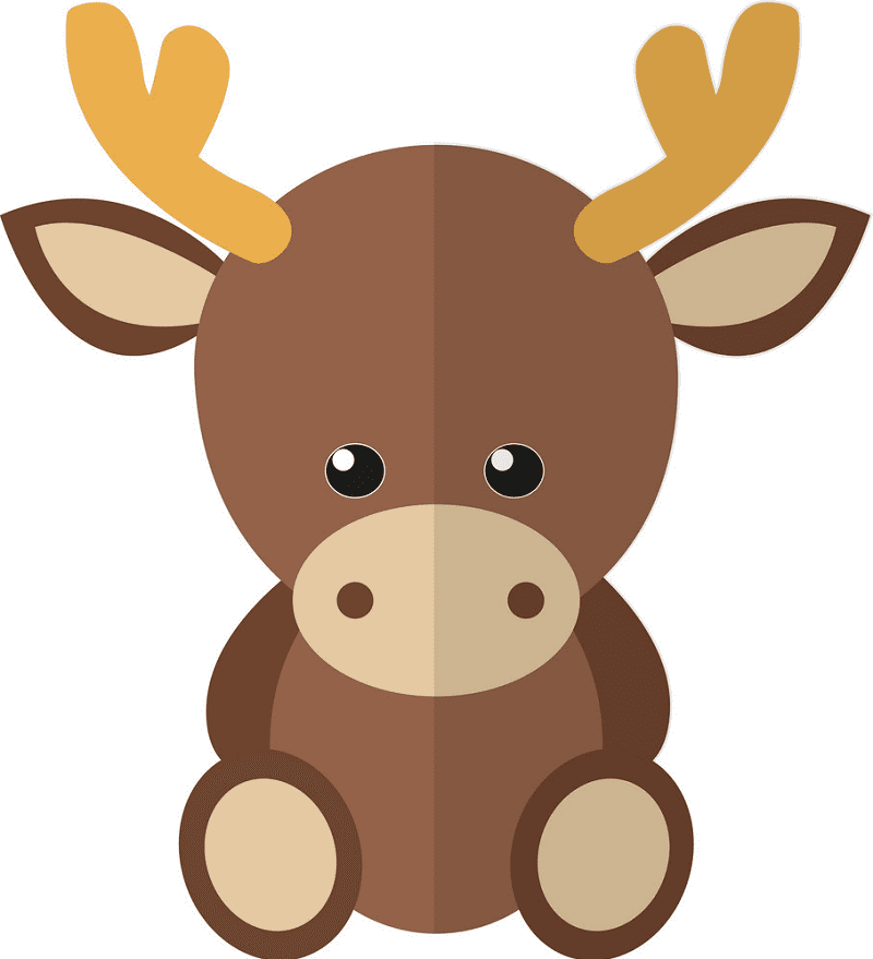 Bsby Moose clipart images