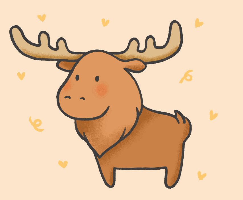 Bsby Moose clipart png free