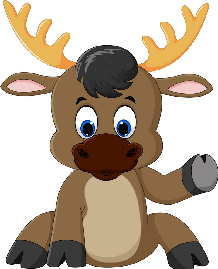 Bsby Moose clipart png image