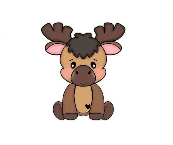 Bsby Moose clipart png