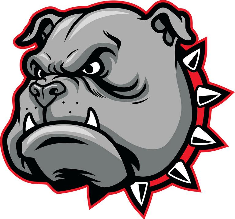 Bulldog Face clipart free