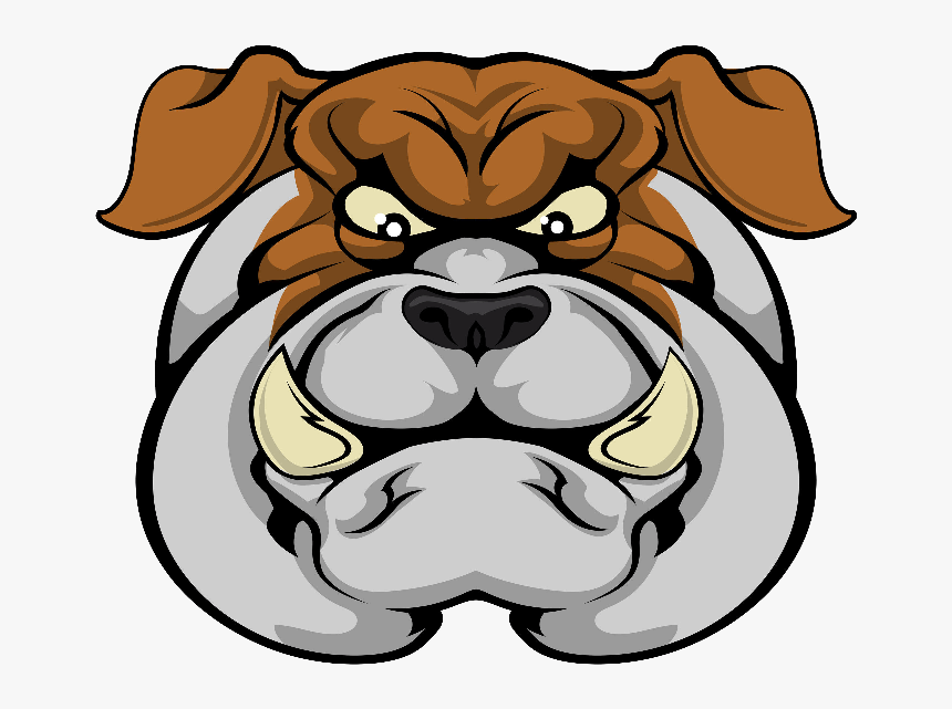 Bulldog Face clipart image