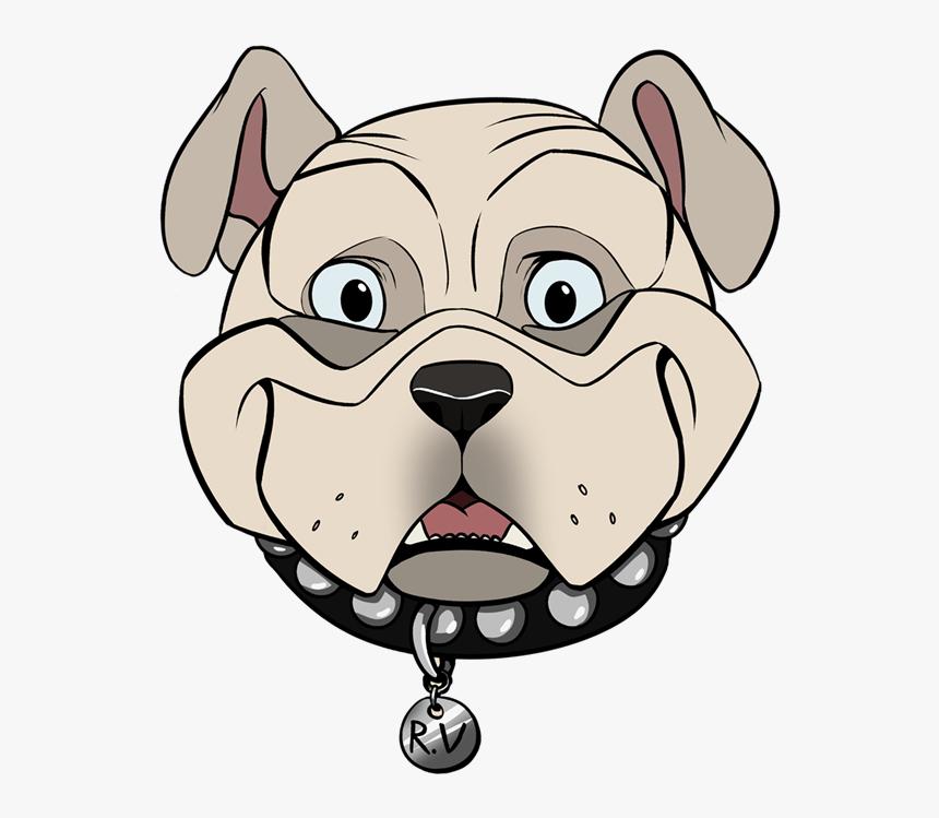 Bulldog Face clipart images