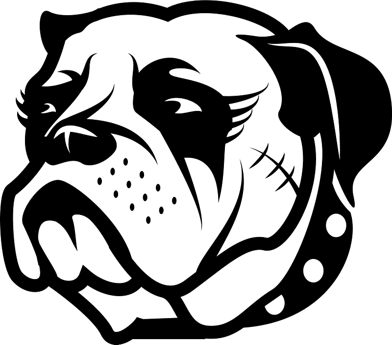 Bulldog clipart transparent background free