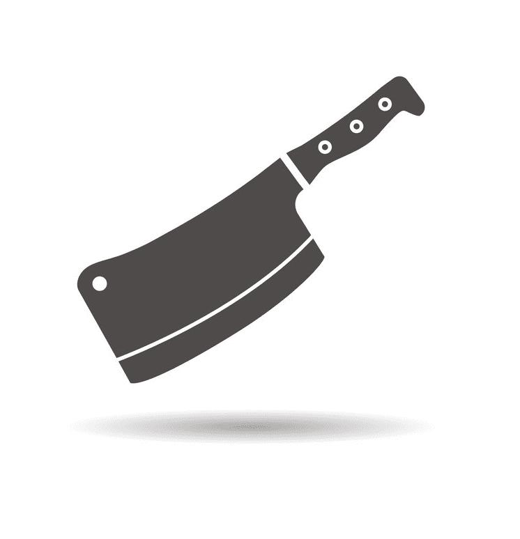 Butcher Knife clipart