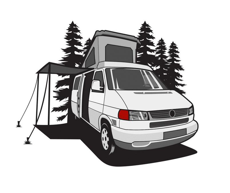 Camper clipart free 3