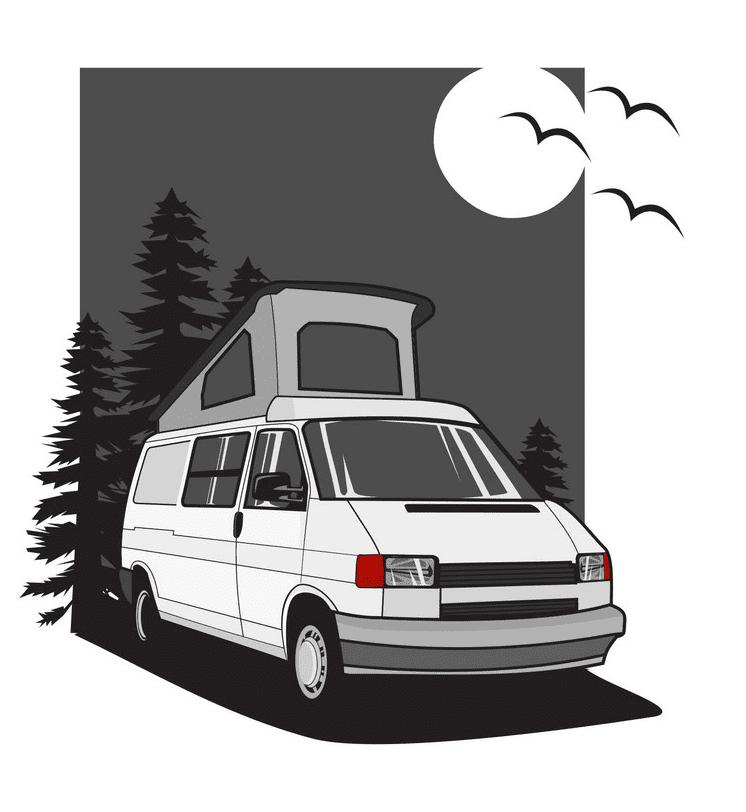 Camper clipart free 6