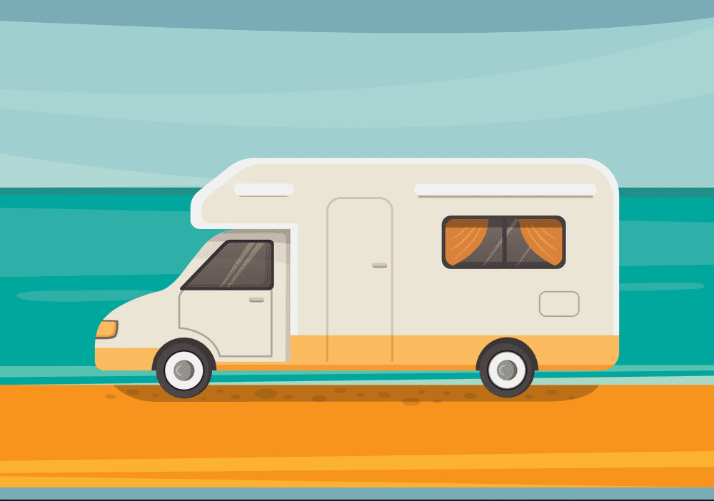 Camper clipart free image
