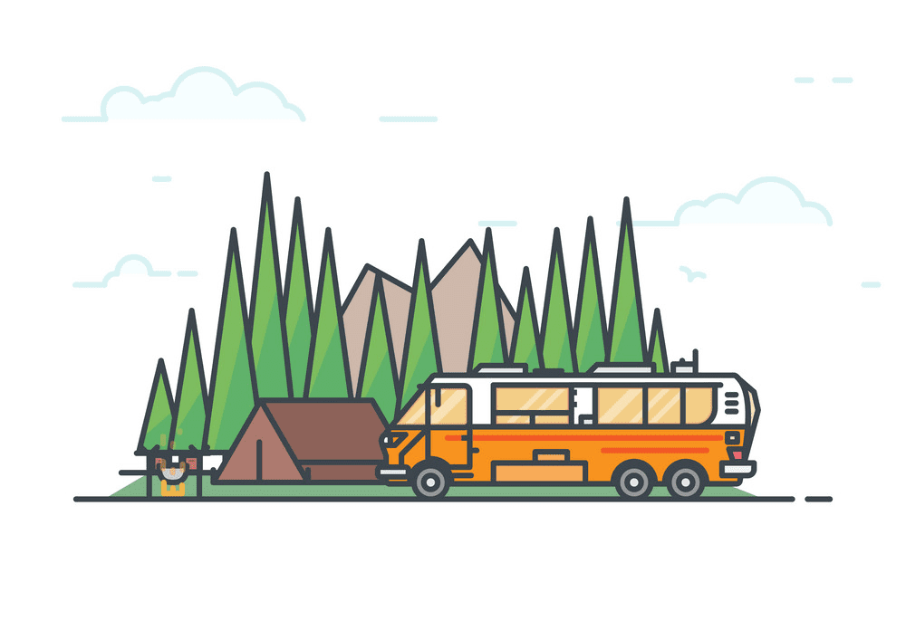 Camper clipart free images