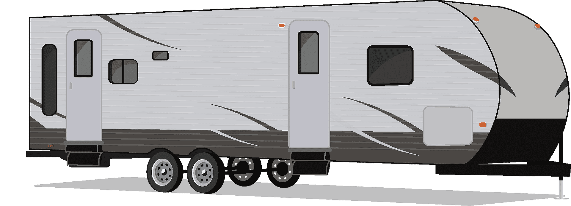 Camper clipart transparent 8