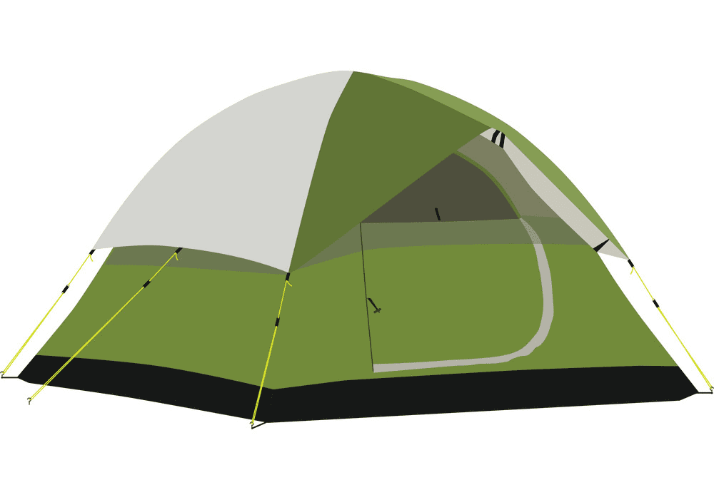 Camping Tent clipart for free