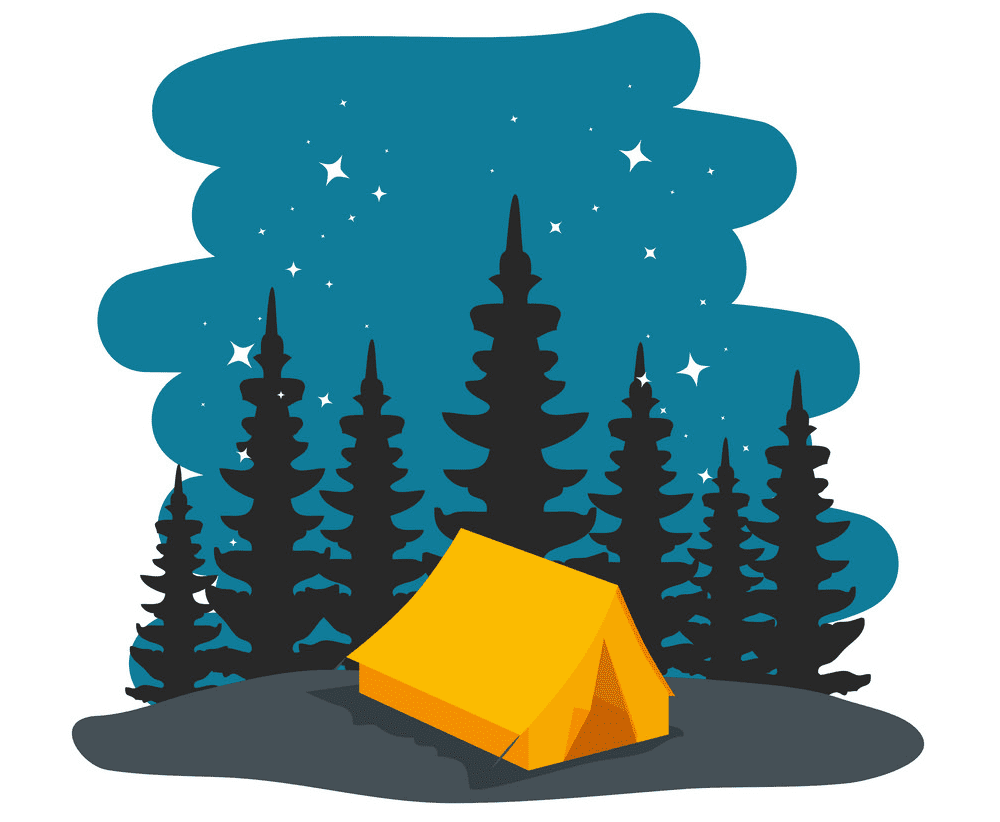 Camping Tent clipart free download
